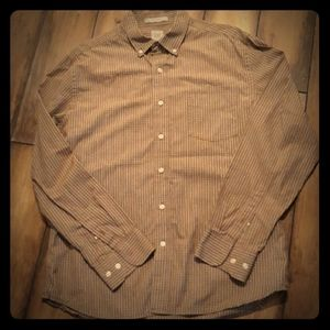 ⛈GAP fitted long-sleeved Button-down Large